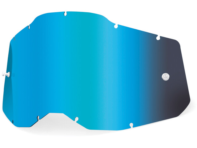 100% Anti-Fog Replacement Lenses Gen2 Youth, blue/mirror